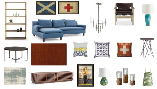 Nautical Inspired Living Room Scout & Nimble