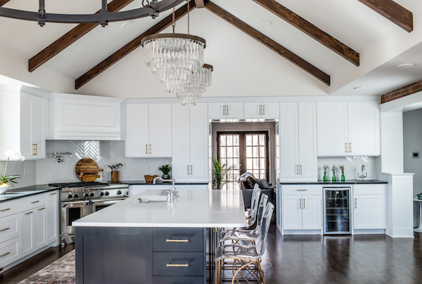 Soapstone countertop painted island kitchen scout and nimble