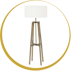 Floor lamp transitional