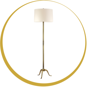 Floor lamp traditional