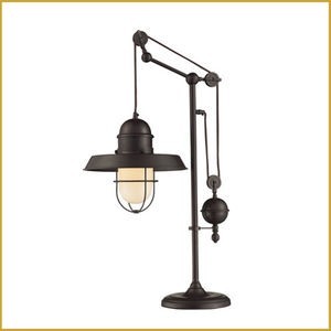 Table lamp industrial