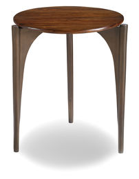 Palisades Tripod End table  with wood top