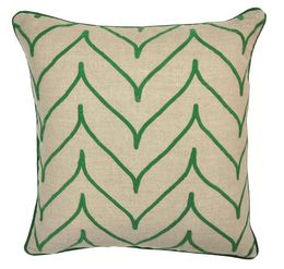 Array Green Pillow, Set of 2
