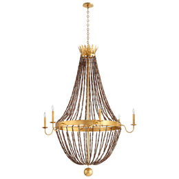 Alessia Six Light Chandelier