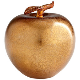 Bronze Apple Sculpture