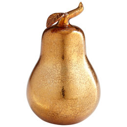Bronze Pear Sculpture