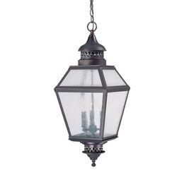 "Chiminea 11"" Steel Hanging Lantern"