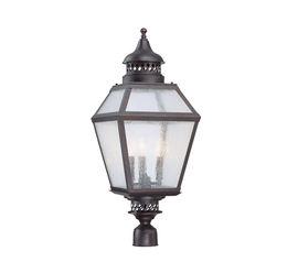 """Chiminea 11"""" Steel Post Lantern"""