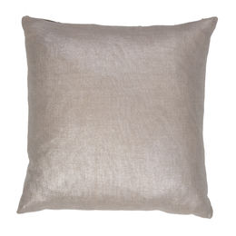 Silver Solid Pillow