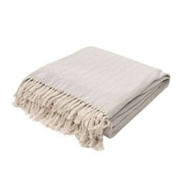 Seabreeze Neutral Gray Throw