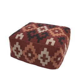 Traditions Made Modern Poufs Ketchup Pouf