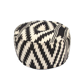Traditions Made Modern Poufs Peat Pouf
