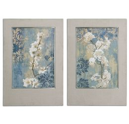 Blossoms Framed Art Set/2