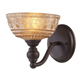 Norwich 1-Light Sconce In Oiled Bronze
