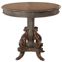 Anya Round Pedestal Table
