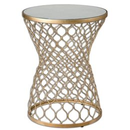 Uttermost Naeva Gold End Table