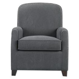 Uttermost Domicia Gray Armchair