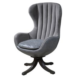 Uttermost Linford Swivel Chair