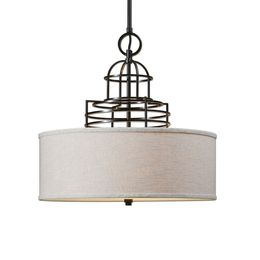 Uttermost Cupola 4 Light Drum Shade