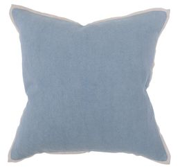 Slate Blue Rice Weave Pillow