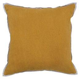 Mustard Rice Weave Pillow