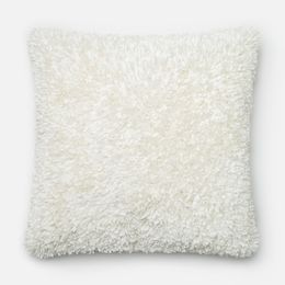 Amelie Bright White 22 x 22 Pillow - Down FIll