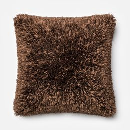 Amelie Brown 22 x 22 Pillow - Down Fill