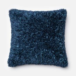 Amelie Navy 22 x 22 Pillow - Down Fill