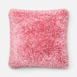 Amelie Pink 22 x 22 Pillow - Down Fill