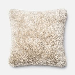 Amelie White 22 x 22 Pillow - Down Fill