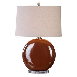 Uttermost Alento Rust Bronze Table Lamp