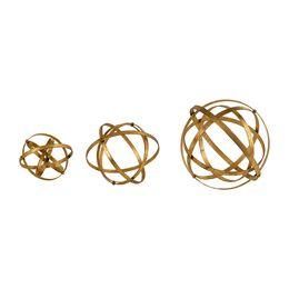 Uttermost Stetson Gold Spheres, S/3