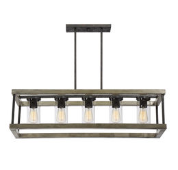 Eden 5 Light Outdoor Chandelier