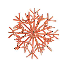 Ardor Table Sculpture In Bright Copper