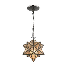 Moravian Star Pendant - Bronze