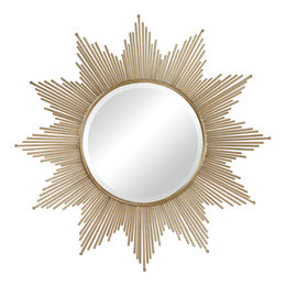 Churchfield Metal Frame Starburst Mirror