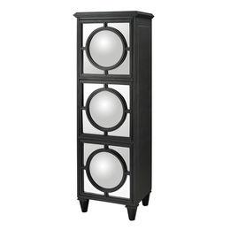 Mirage Convex Mirror Shelf Unit