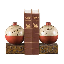 Pair Of Fishing Bobber Bookends