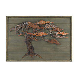 Wood & Metal Tree Wall Art
