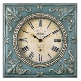Uttermost Canal St. Martin Square Wall Clock