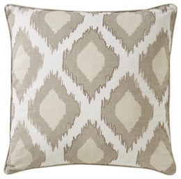 Cosmic By Nikki Chu Bone White Pillow
