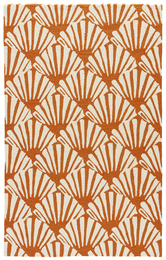 Barcelona I-o Burnt Orange Rug