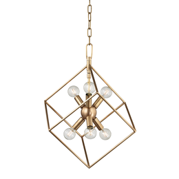 Roundout 6 LIGHT PENDANT