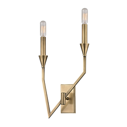 Archie 2 LIGHT RIGHT WALL SCONCE