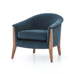 Nomad Chair-Plush Azure