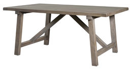 "Toscana 78"" Dining Table-Sundried Wheat"