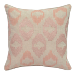Mira Blush 22x22 Pillow