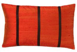 Orange with Stripes Pillow