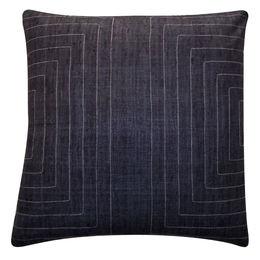 Charcoal 100% Silk Pillow