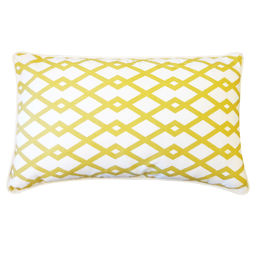 Yellow Links Pillow